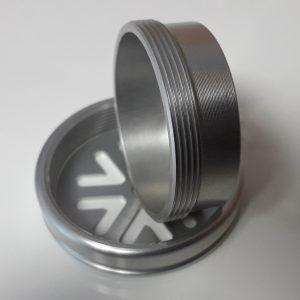 capsule aluminium masque protection