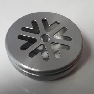 capsule en aluminium pour masque protection